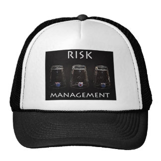 Risk management trucker hat