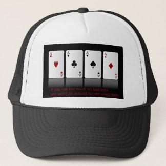 risk of life trucker hat