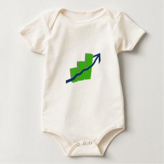 Risk On Stock Market Baby Bodysuit
