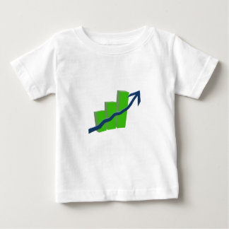 Risk On Stock Market Baby T-Shirt