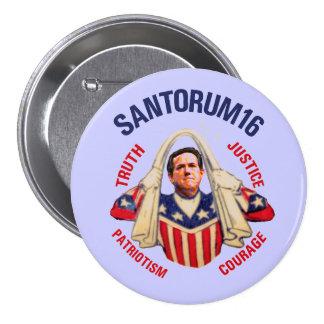 Risk Santorum for President 2016 Button