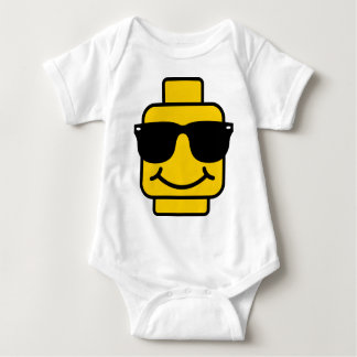 Risky Business Brick Head Baby Bodysuit