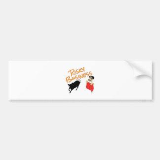 Risky Business Bumper Sticker