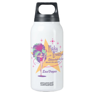 Risky Business Las Vegas Showgirl 10 Oz Insulated SIGG Thermos Water Bottle