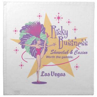 Risky Business Las Vegas Showgirl Napkins
