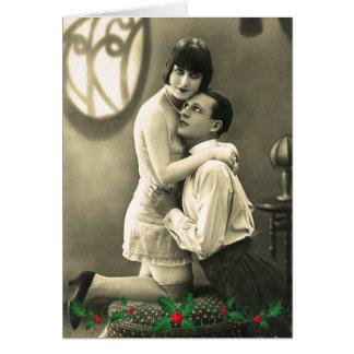 Risque Christmas Card