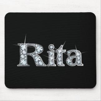 """Rita """"Diamond Bling"""" Mousepad"""