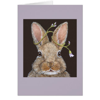 Rita the bunny card