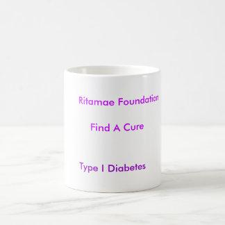 Ritamae Foundation, Find A Cure, Type I Diabetes Coffee Mug