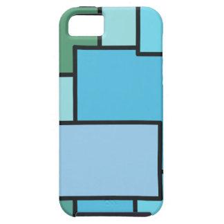 Ritmo del azul funda para iPhone SE/5/5s