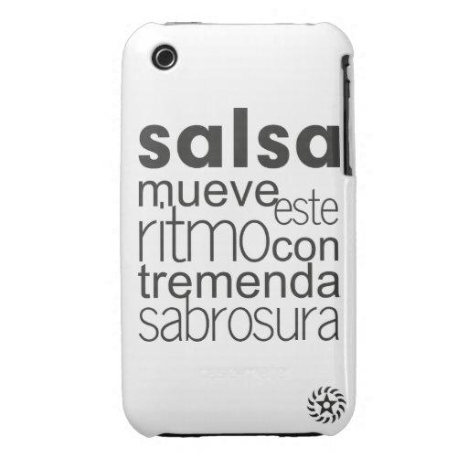 Ritmo del este de Mueve de la salsa iPhone 3 Case-Mate Cárcasas