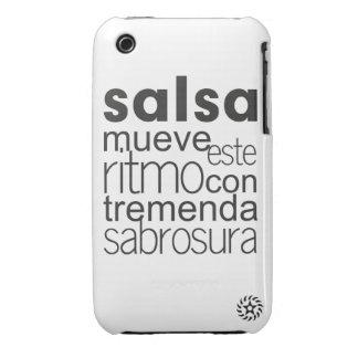 Ritmo del este de Mueve de la salsa iPhone 3 Cárcasa