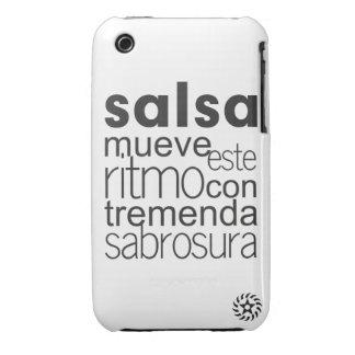 Ritmo del este de Mueve de la salsa iPhone 3 Case-Mate Coberturas