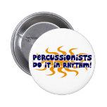 Ritmo del Percussionist Pins