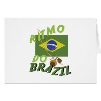 Ritmo do Brazil Card