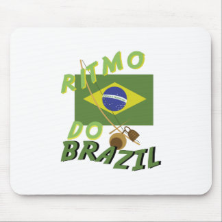 Ritmo do Brazil Mouse Pad