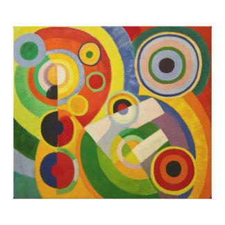 Ritmo Joie de vivre de Roberto Delaunay 1930 Impresion De Lienzo