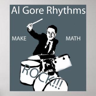 Ritmos de Al Gore Posters