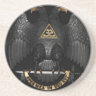 Rito escocés albañil Eagle de 32 grados Posavasos Personalizados