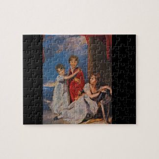 Ritratto dei Ragazzi Fluyder_Groups and Figures Jigsaw Puzzle
