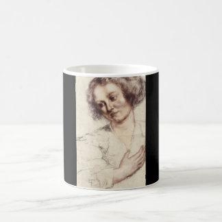 Ritratto di Donna', Sir_Studies of the Masters Coffee Mug