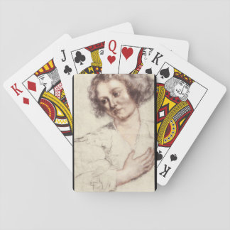 Ritratto di Donna', Sir_Studies of the Masters Poker Deck