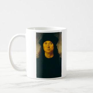 ritratto di uomo 1 by Raffaello Sanzio da Urbino Coffee Mug