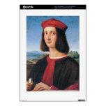ritratto di uomo 2 by Raffaello Sanzio da Urbino Skin For The PS3 Console