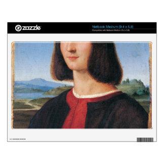 ritratto di uomo 2 by Raffaello Sanzio da Urbino Netbook Skins