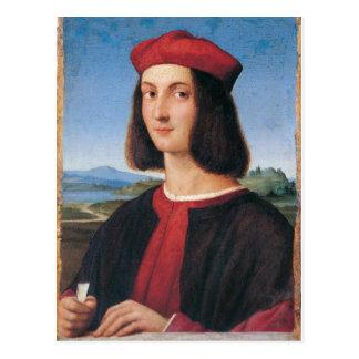 Ritratto di uomo 2 postcard