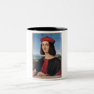 Ritratto di uomo 2 Two-Tone coffee mug