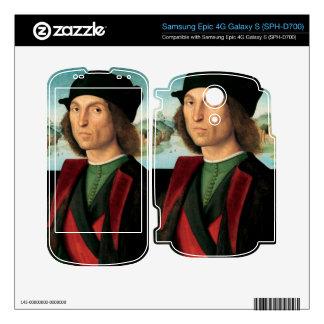 ritratto di uomo by Raffaello Sanzio da Urbino Skin For The Samsung Epic