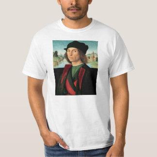 ritratto di uomo by Raffaello Sanzio da Urbino T-Shirt