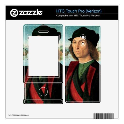 ritratto di uomo de Raffaello Sanzio DA Urbino HTC Touch Pro Skins