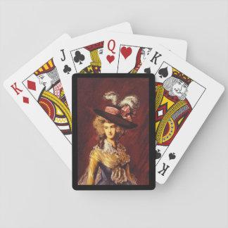 Ritratto', Thomas Gainsborough_Portraits Poker Cards