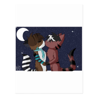 Ritsuka x Arex- I'll Love You Under the Moon Postcard