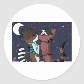 Ritsuka x Arex- I'll Love You Under the Moon Sticker