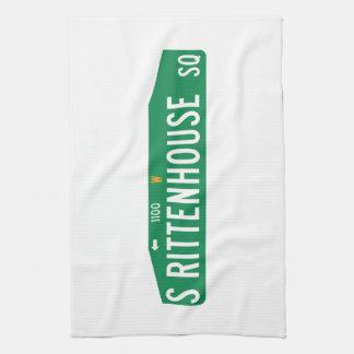 Rittenhouse Square, Philadelphia, PA Street Sign Towels