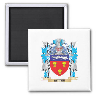 Ritter Coat of Arms - Family Crest Magnets