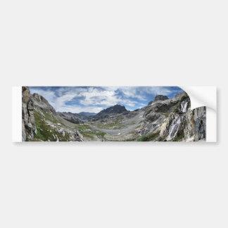 Ritter Pass Waterfall - Ansel Adams Wilderness Bumper Sticker