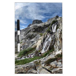 Ritter Pass Waterfall - Ansel Adams Wilderness Dry Erase Board