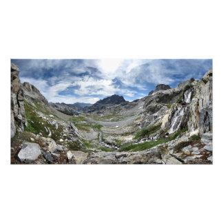 Ritter Pass Waterfall - Ansel Adams Wilderness Photo Print