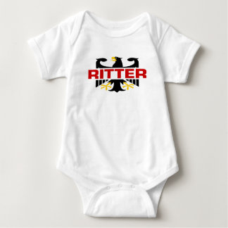 Ritter Surname Baby Bodysuit