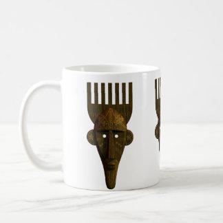 Ritual African Mask Classic White Coffee Mug