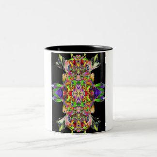 Ritual coffee cup/Black Two-Tone Coffee Mug