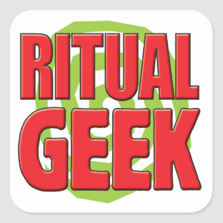 Ritual Geek Sticker