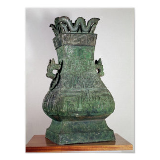 Ritual 'Hu' vase, Chou Dynast Poster