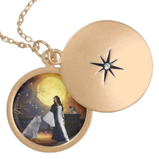 Ritual Night Gold Plated Necklace