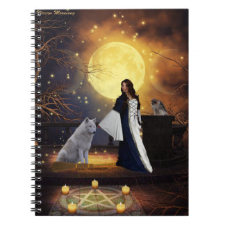 Ritual Night Spiral Notebook