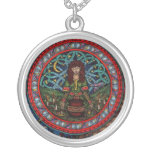 Ritual Pendent Silver Plated Necklace